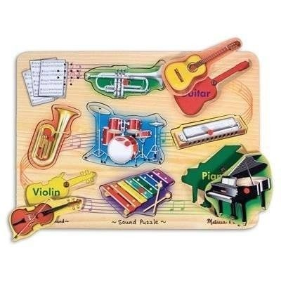 Musical Instrument Sounds Puzzle - Melissa & Doug