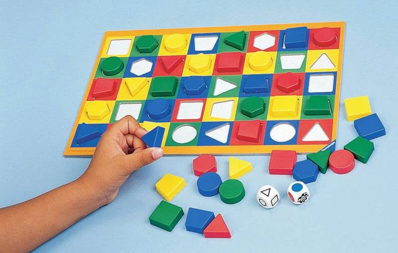 Ravensburger Colorama Shapes and Colors Game (1 - 6 Players, Multicolor)