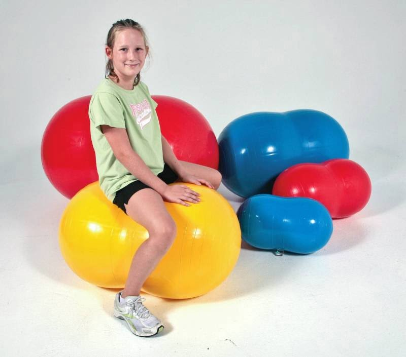 Sportime Physio-Roll Exercise Ball (27.6 inch - Blue)