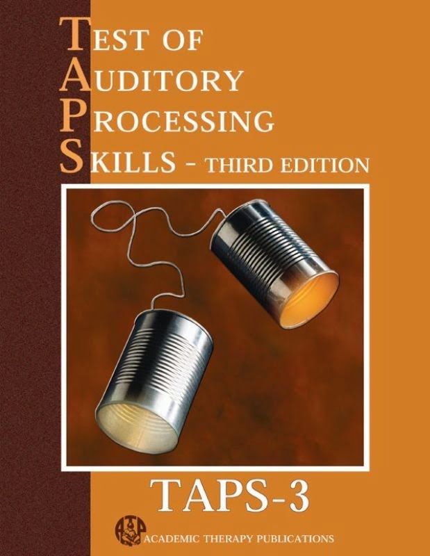 Test of Auditory Processing Skills TAPS (3rd ed Complete Kit)