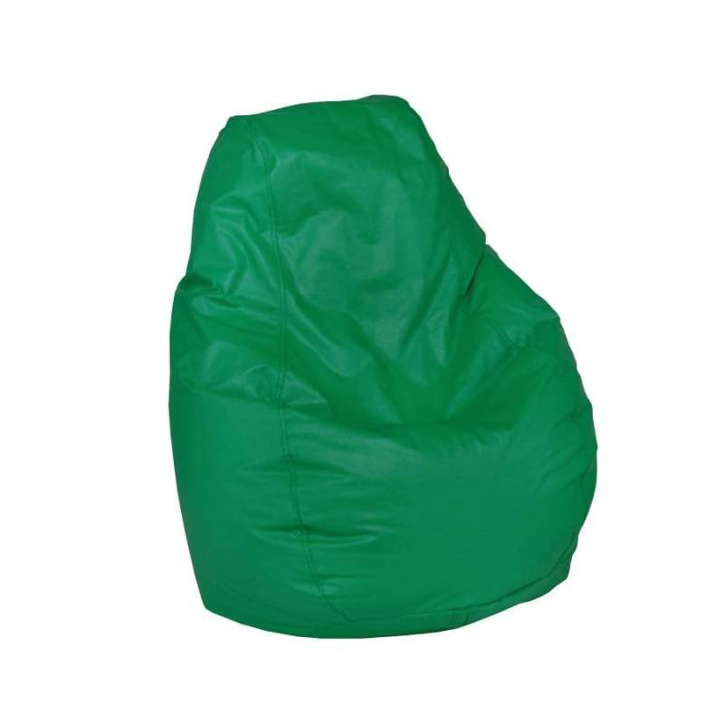 High Back Bean Bag Chair (Medium - Green)