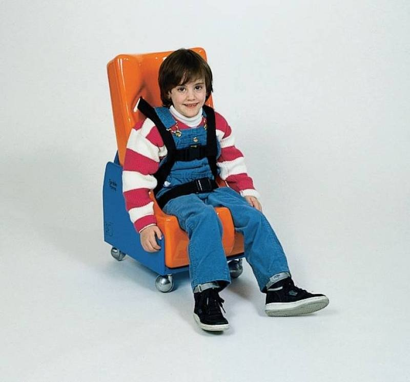 Enhanced Feeder Seat Mobile Base and Seat (Medium - Assorted Colors)