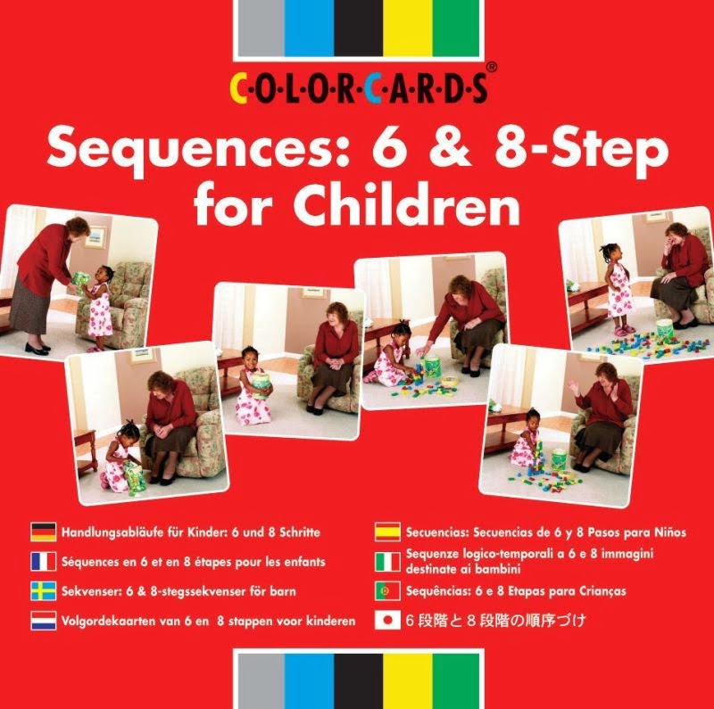 ColorCards (Sequences 6 and 8 Step for Adults)