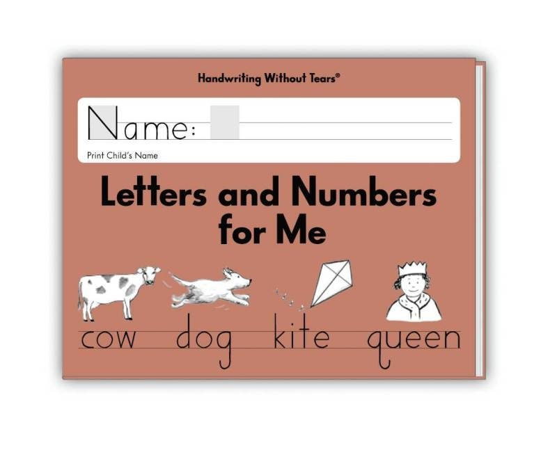 Handwriting Without Tears - Letters and Numbers Kindergarten