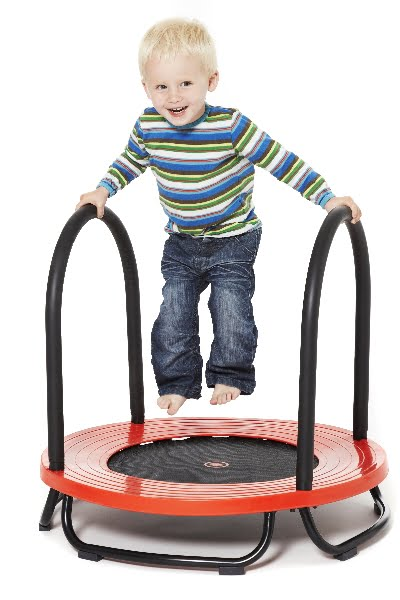 Childrens Trampoline with Support Handles