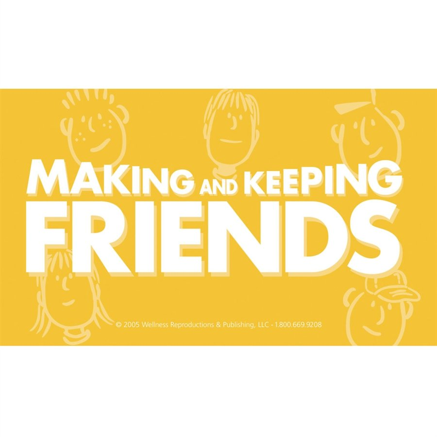 Making and Keeping Friends Cards Middle School