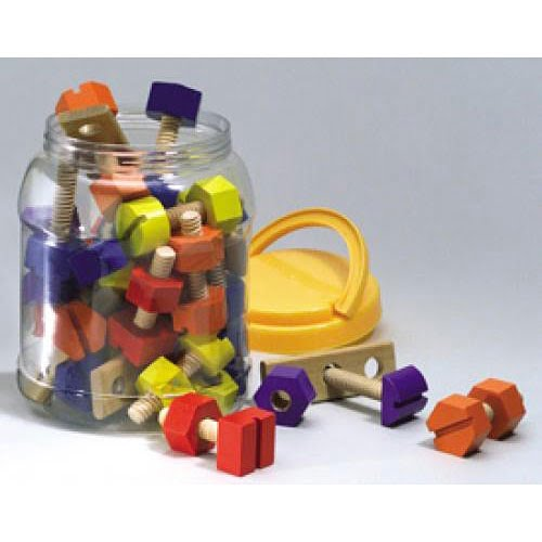 Wooden Nuts & Bolts Toy