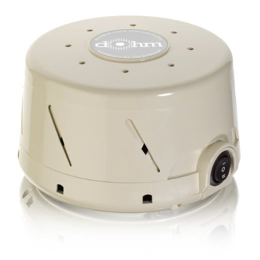 Marpac Dohm DS White Noise Sound Machine, Dual Speed, Tan