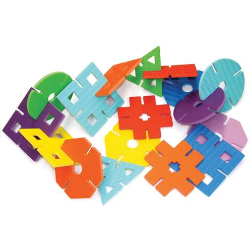 WonderFoam Giant Design Shapes, Set of 40