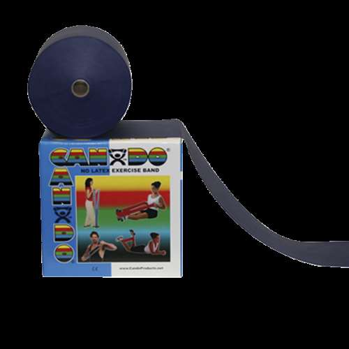 50 yd No-Latex Heavy Resistance Band, Blue