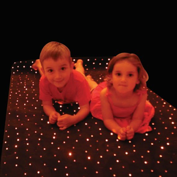 Fiber Optic Carpets