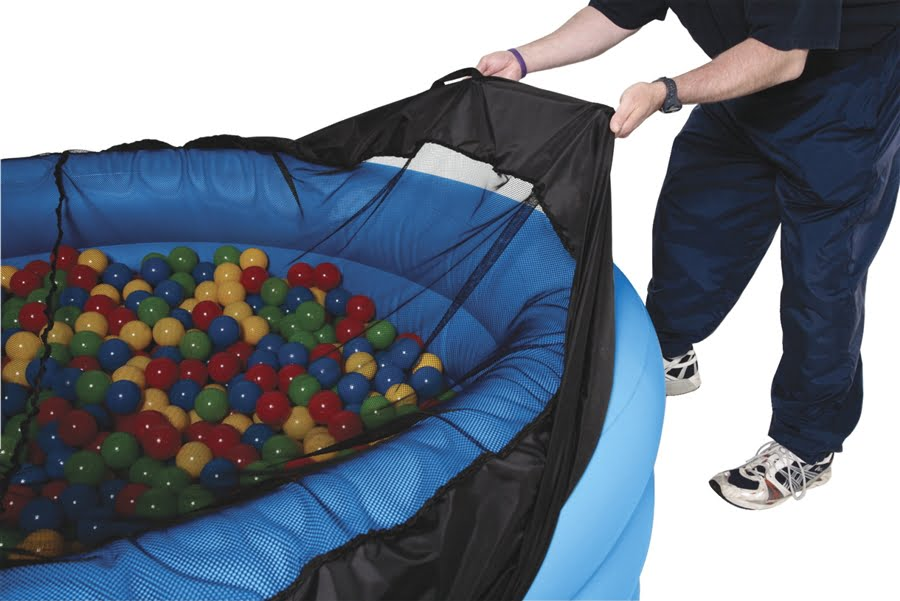 DuraPit Ball Pit Set with Cover, 2000 Sensory Balls