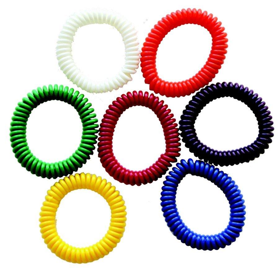 """Chew""lery Chewable Jewelry - Bracelet set of 7"