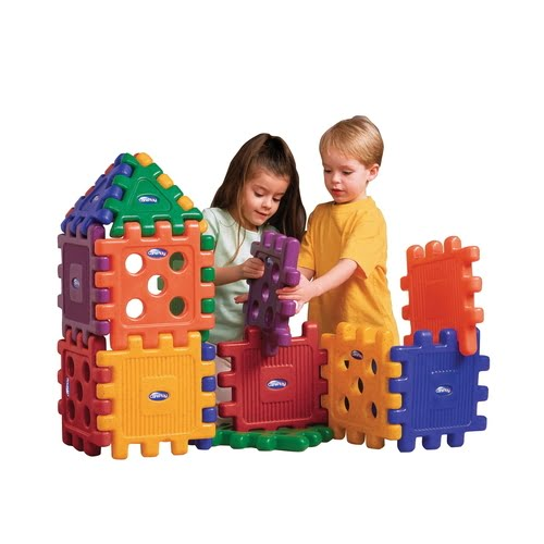 CarePlay Heavy Duty Grid Block Set, Set of 32