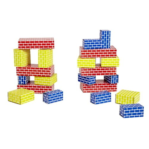 Childcraft Corrugated Blocks,