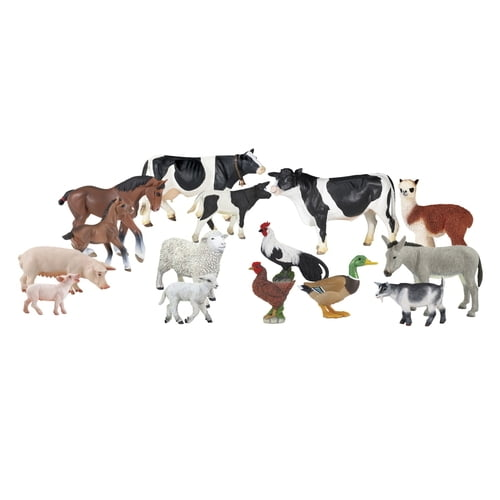 Childcraft On the Farm Hand-Painted Animal Set