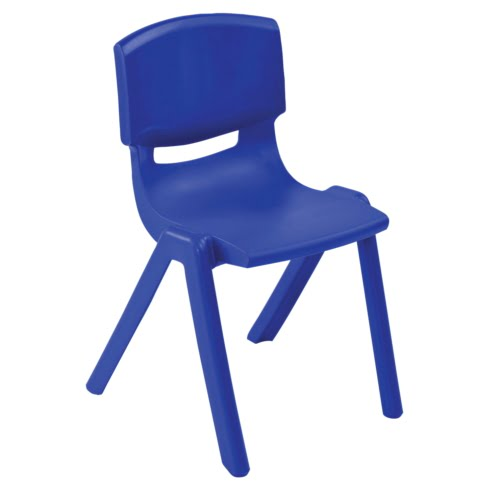 ECR4Kids Resin Chair Blue