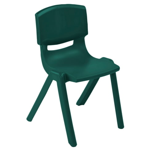 ECR4Kids Resin Chair Green