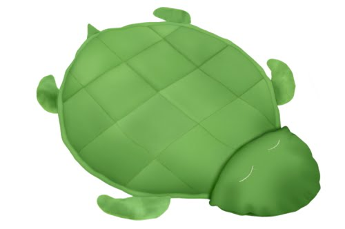 Fleece Turtle Blanket
