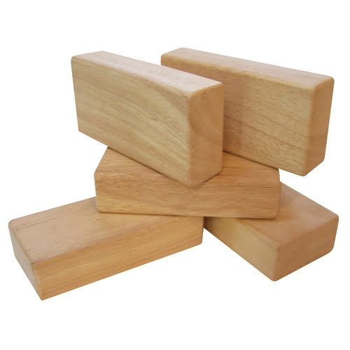 Guidecraft Unit Blocks, Set of 5