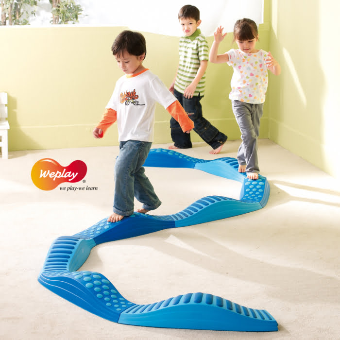 WEPLAY WAVY TACTILE PATH (BLUE)