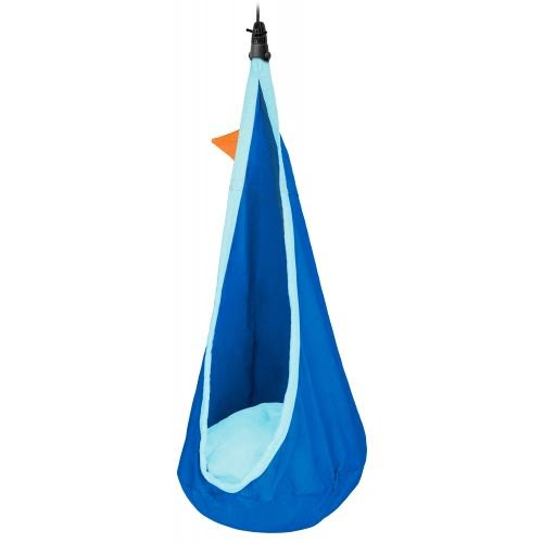 Joki Hanging Nest Swing- Dolphy Blue