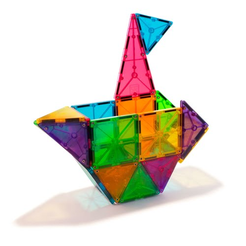 Magna-Tiles 32 Piece Ship