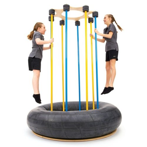 Softbounce And Hardbounce Mini Trampolines: Child's Trampoline
