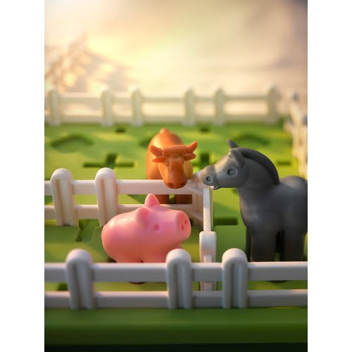 Smart Farmer Game Close Up
