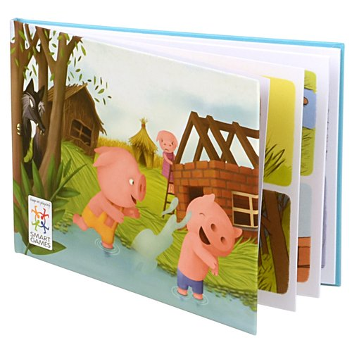 Three Little Pigs Game Book