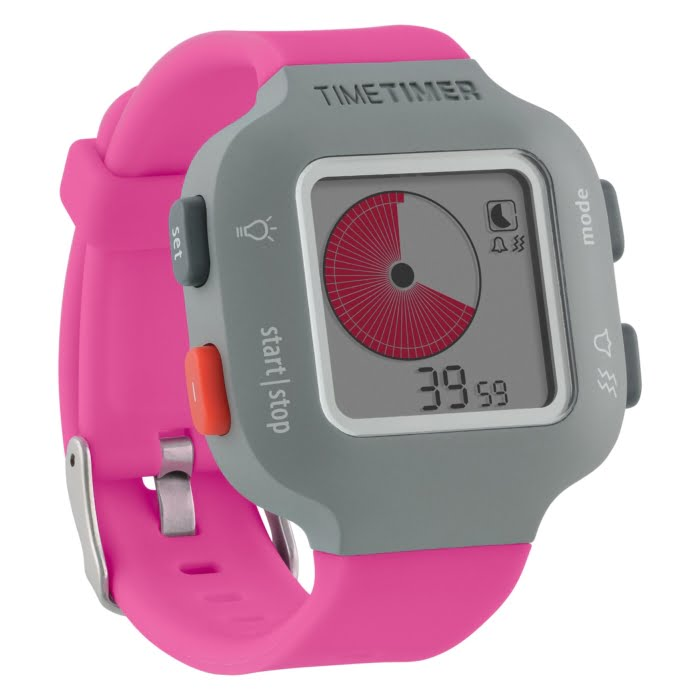 Time Timer Watch in Berry
