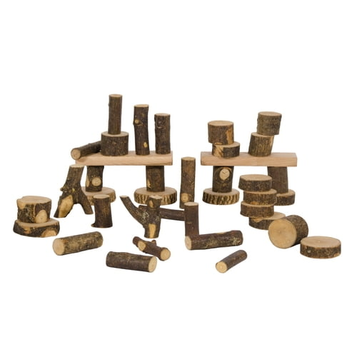 Tree Blocks Reclaimed Building Block Set