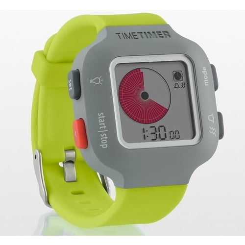 time timer watch green